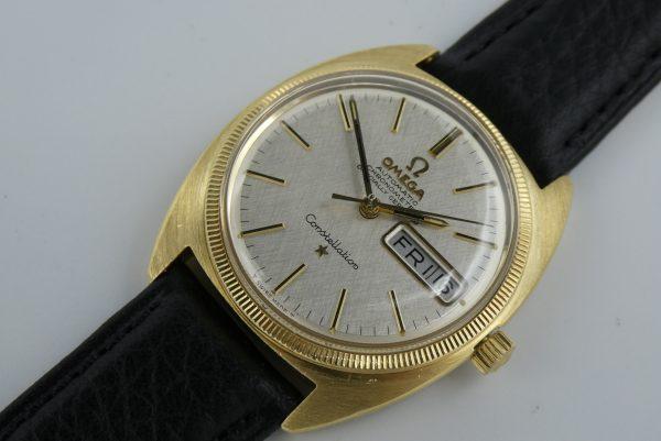 Vintage Omega Constellation gold 168.029