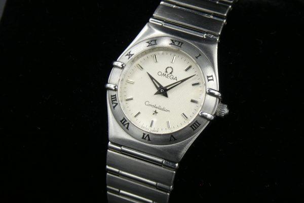 Omega Constellation quartz steel on steel 1572.30.00