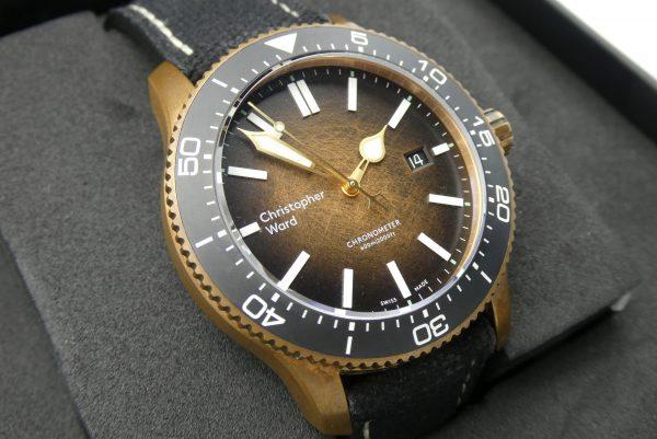 Christopher Ward C60 Bronze Ombre Ltd Edition
